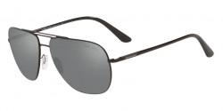 Giorgio Armani AR 6060 30016G  MATTE BLACK grey mirror silver