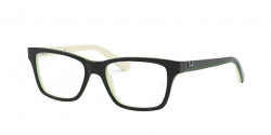 Ray-Ban Junior RY 1536 3820  TOP BLACK ON WHITE/GREEN