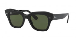 Ray-Ban RB 2186 STATE STREET  901/31  BLACK green