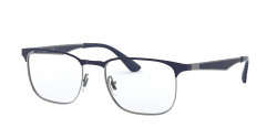 Ray-Ban RB 6363  2947  GUNMETAL ON TOP DARK BLUE