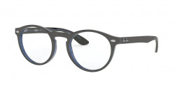 Ray-Ban RB 5283 5988  GREY ON TOP TRASPARENT BLUE
