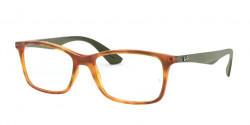 Ray-Ban RB 7047 5990  YELLOW LIGHT HAVANA