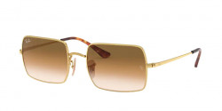 Ray-Ban RB 1969 RECTANGLE 914751  GOLD clear gradient brown