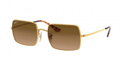 Ray-Ban RB 1969 RECTANGLE 9147M2  GOLD brown gradient polar