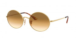 Ray-Ban RB 1970 OVAL 914751  GOLD clear gradient brown
