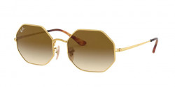 Ray-Ban RB 1972 OCTAGON 914751  GOLD clear gradient brown