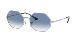 Ray-Ban RB 1972 OCTAGON 91493F  SILVER  clear gradient blue