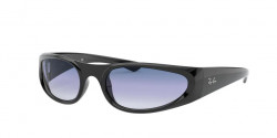 Ray-Ban RB 4332  601/19  BLACK clear gradient light blue