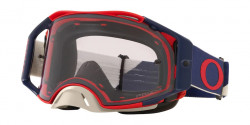 Gogle Oakley OO 7046 AIRBRAKE MX 704686  HERITAGE B1B RED NAVY prizm low light