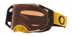 Gogle Oakley OO 7046 AIRBRAKE MX 704690  TUFF BLOCKS GUNMETAL GOLD prizm mx bronze