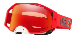 Gogle Oakley OO 7046 AIRBRAKE MX 704696  HERITAGE STRIPE RED prizm mx torch iridium