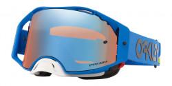 Gogle Oakley OO 7046 AIRBRAKE MX 704697  HERITAGE STRIPE BLUE prizm mx sapphire iridium