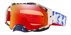 Gogle Oakley OO 7046 AIRBRAKE MX 704698  TLD PATRIOT RWB  prizm mx torch iridium