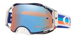 Gogle Oakley OO 7046 AIRBRAKE MX 704699  TLD PREMIX NAVY ORANGE  prizm mx sapphire iridium
