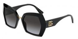 Dolce&Gabbana DG 4377  501/8G  BLACK grey gradient