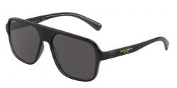 Dolce&Gabbana DG 6134  325787  TRANSPARENT GREY/BLACK grey