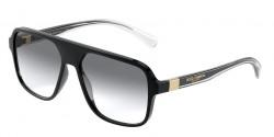 Dolce&Gabbana DG 6134  675/79  BLACK  clear gradient blue