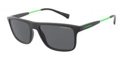 Emporio Armani EA 4151 504287 MATTE BLACK dark grey