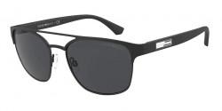 Emporio Armani EA 2093 300187  MATTE BLACK dark grey