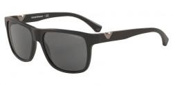 Emporio Armani EA 4035 504287  MATTE BLACK dark grey