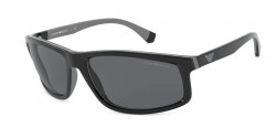 Emporio Armani EA 4144  500187  BLACK/GREY RUBBER  grey