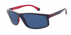 Emporio Armani EA 4144  575480  MATTE BLUE/RED RUBBER dark blue