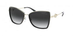 Michael Kors MK 1067 B CORSICA 10148G LIGHT GOLD dark grey gradient