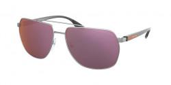 Prada PS 55 VS  7CQ07A  MATTE GUNMETAL polar pink mirror pink
