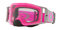 Gogle Oakley OO 7087 FRONT LINE MX 708744  TUFF BLOCKS GUNMETAL PINK prizm mx low light