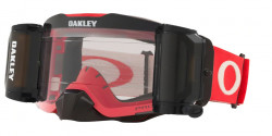 Gogle Oakley OO 7087 FRONT LINE MX 708745  TUFF BLOCKS RED GREY prizm mx low light