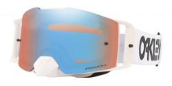 Gogle Oakley OO 7087 FRONT LINE MX 708750  FACTORY PILOT WHITE prizm mx sapphire