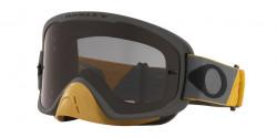 Oakley OO 7115 O FRAME 2.0 PRO MX 711524  TUFF BLOCKS GUNMETAL GOLD dark grey