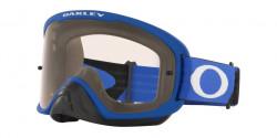 Oakley OO 7115 O FRAME 2.0 PRO MX 711526  TUFF BLOCKS BLUE BLACK clear
