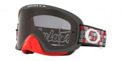 Oakley OO 7115 O FRAME 2.0 PRO MX 711530  TLD MONOGRAM GUNMETAL RED dark grey