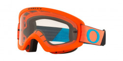 Oakley OO 7116 O FRAME 2.0 PRO XS MX  711604  TUFF BLOCKS ORANGE BLUE  clear