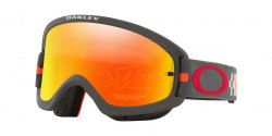 Oakley OO 7116 O FRAME 2.0 PRO XS MX  711611  TLD CHECKERBOARD RED fire iridium