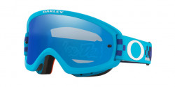 Oakley OO 7116 O FRAME 2.0 PRO XS MX  711612  TLD CHECKERBOARD BLUE black ice iridium