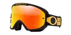 Gogle Oakley OO 7117 O FRAME 2.0 PRO MTB 711705  TLD PINSTRIPE YELLOW fire iridium
