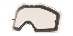 Szyba Oakley OO 7087 FRONT LINE MX DUAL CLEAR REPL LENS 000003