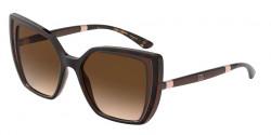 Dolce&Gabbana DG 6138  318513  HAVANA ON TRANSPARENT BROWN brown gradient