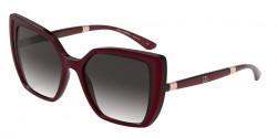 Dolce&Gabbana DG 6138  32478G  BORDEAUX ON TRANSP BORDEAUX  grey gradient