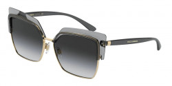 Dolce&Gabbana DG 6126  31608G  TRANSPARENT GREY  light grey gradient black