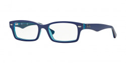 Ray-Ban Junior RY 1530 3587 TOP BLUE ON AZURE TRANSPARENT