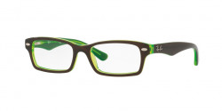 Ray-Ban Junior RY 1530 3665  TOP BROWN ON GREEN FLUO