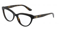 Dolce&Gabbana DG 3332  3270  TOP BLACK ON HAVANA