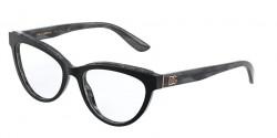 Dolce&Gabbana DG 3332  3272  TOP BLACK ON GREY MARBLE