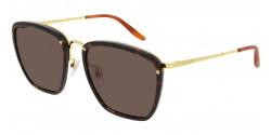 Gucci GG 0673 S  002 HAVANA/GOLD brown