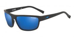 Arnette AN 4259 BORROW 01/55  MATTE BLACK blue mirror blue