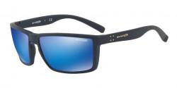 Arnette AN 4253 PRYDZ  215325  RUBBER BLUE  green mirror light blue