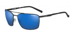 Arnette AN 3080 MABONENG 696/55  RUBBER BLACK blue mirror blue